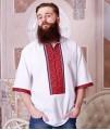 Мужская вышиванка (ручная вышивка)