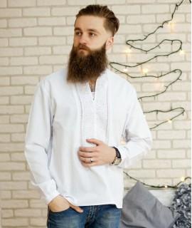 Мужская вышиванка Праздничная (ручная вышивка)