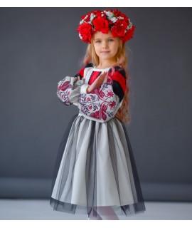 Вишите плаття для дівчинки Жарптиця