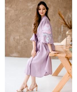 Вишите плаття льон
