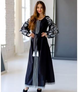 Вышитое платье  Роксолана