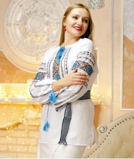 Жіноча вишиванка Сонечко (ручна вишивка)
