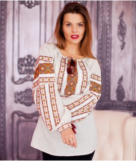 Женская вышиванка   Гуцульская