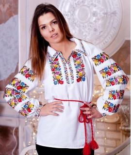Женская вышиванка   Цветастая