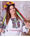 Жіноча вишиванка Сонячна