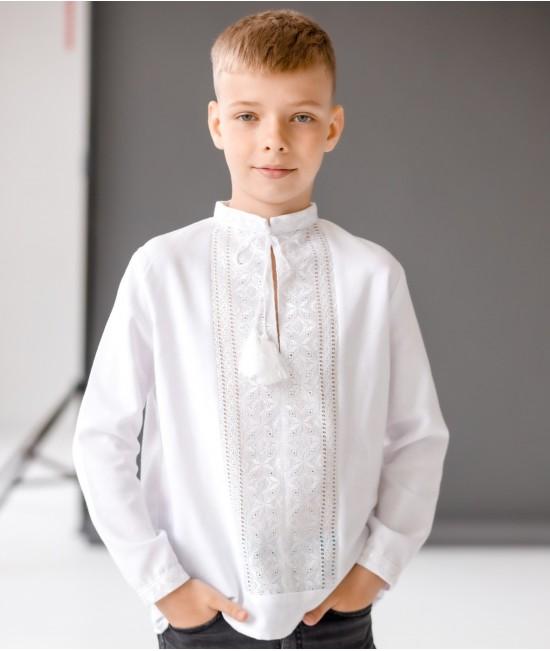 Вышиванка для мальчика ручная вышивка