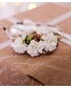Обруч из цветов Хризантемы